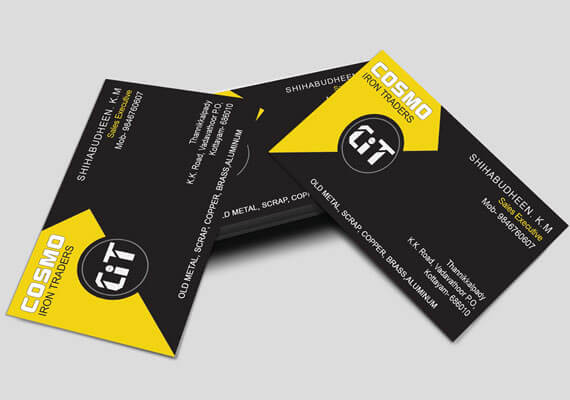 Cosmo Business Card Design