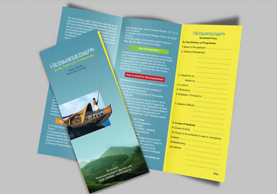 Brochure Designing for Insights